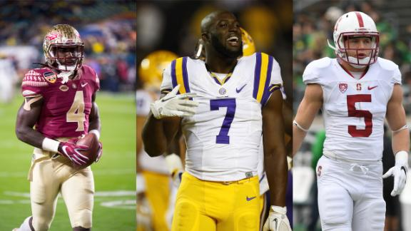 The big 3 RBs of the 2017 NFL draft