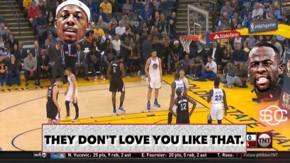 Draymond to Pierce: 'You thought you was Kobe?'