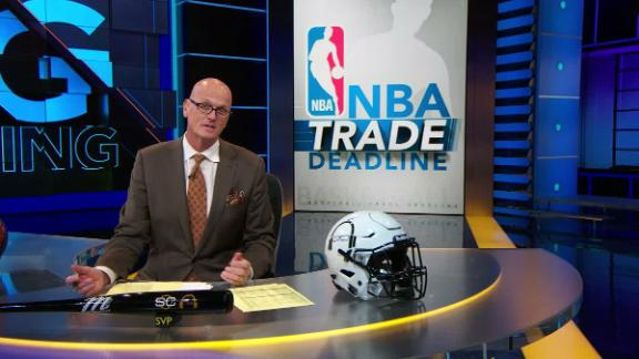 1 Big Thing: NBA trade deadline more sizzle than steak