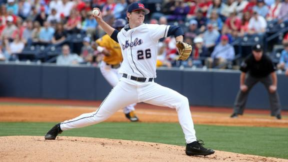 No. 24 Rebels rally late to beat UNCW