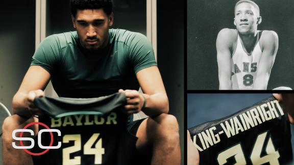 SC Featured: Connection between Baylor guard and a Kansas legend