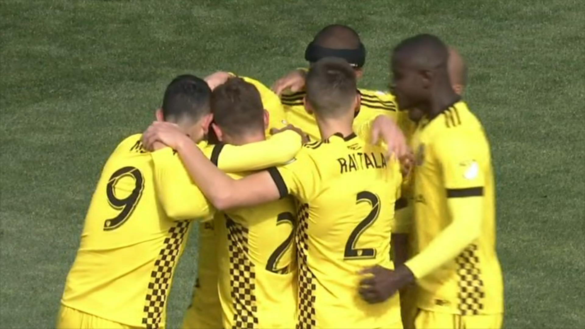 Video via MLS: Crew SC 1-1 Chicago Fire