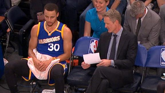 Steve Kerr gives the best pep talks