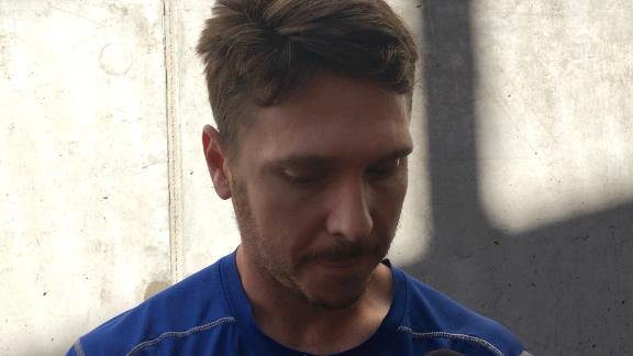 Kazmir explains early exit from game
