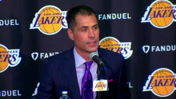 Pelinka going to make 'Lakers the greatest sports franchise in the world'