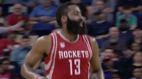 Harden's monster triple-double not enough for Rockets