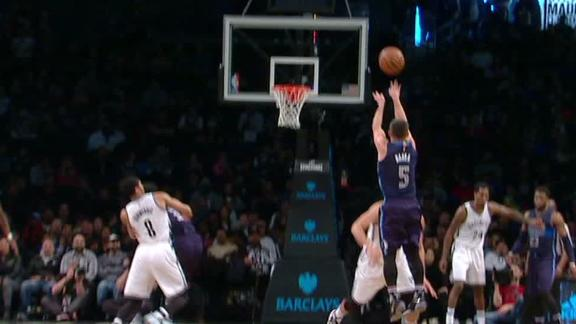 Barea drains dagger 3 to help down Nets