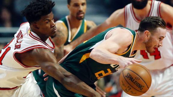 Butler, Portis push Bulls past Jazz