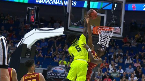 Baylor's Motley has no regard for USC defender on dunk