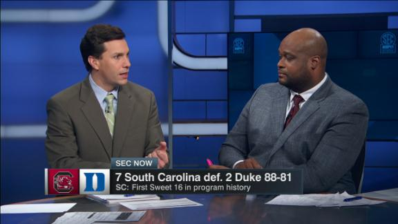 Defense wills South Carolina past Duke
