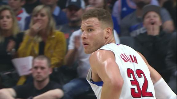 Griffin scores 30 in win over Knicks