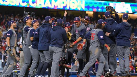 Stroman dominates, USA wins first WBC title