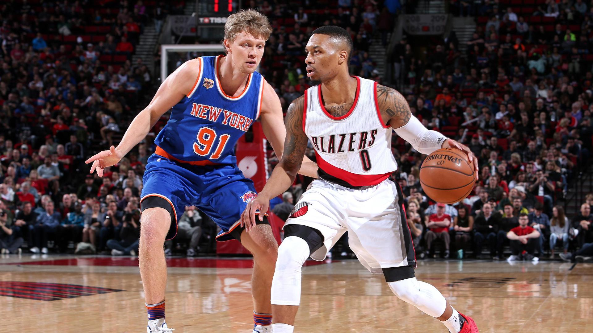 Lillard drops 30 in Blazers' victory over Knicks