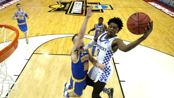 Fox powers Kentucky past UCLA