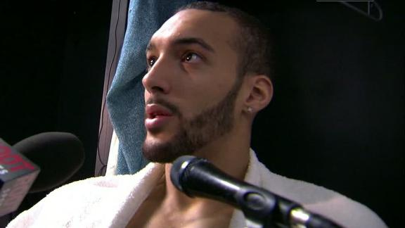 Gobert: Jazz loss can be tied to mentality