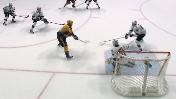 Neal strikes twice in Predators' win