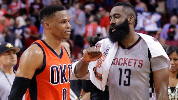 Harden, Westbrook matchup did not disappoint