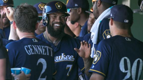 Will Eric Thames replicate success in his MLB return?