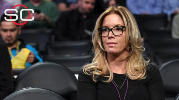 Buss further cements control of Lakers