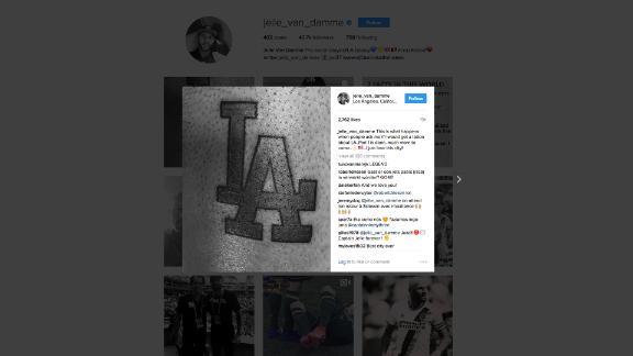 LA Galaxy captain Jelle Van Damme got an LA tattoo and it's perfect (LA) - Via MLS