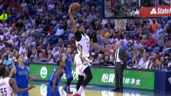 Davis, Cousins leads Pelicans past Mavs