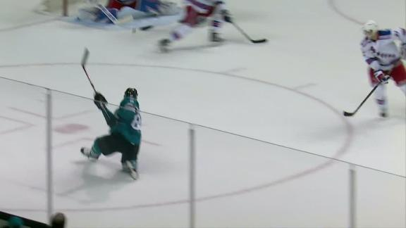 Burns gives Sharks the OT victory