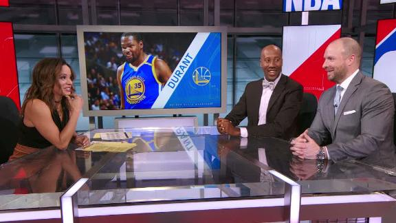 Russillo calls Durant's rest comment 'absurd'