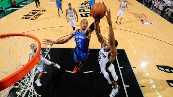 Westbrook, Leonard have different keys to success