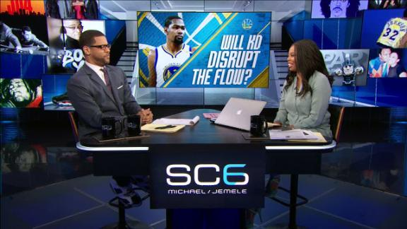 Will KD easily slide back into Warriors' rotation?