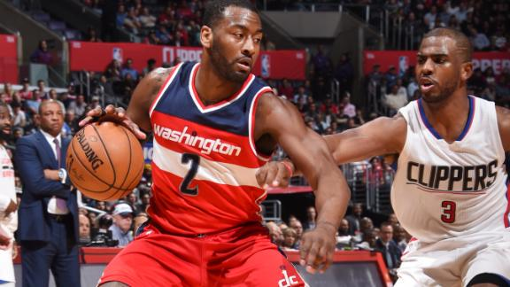 Wall's big night not enough in loss to Clippers
