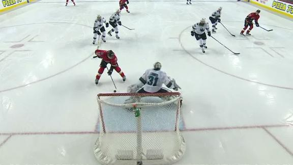 Gaudreau scores off Flames' terrific passing