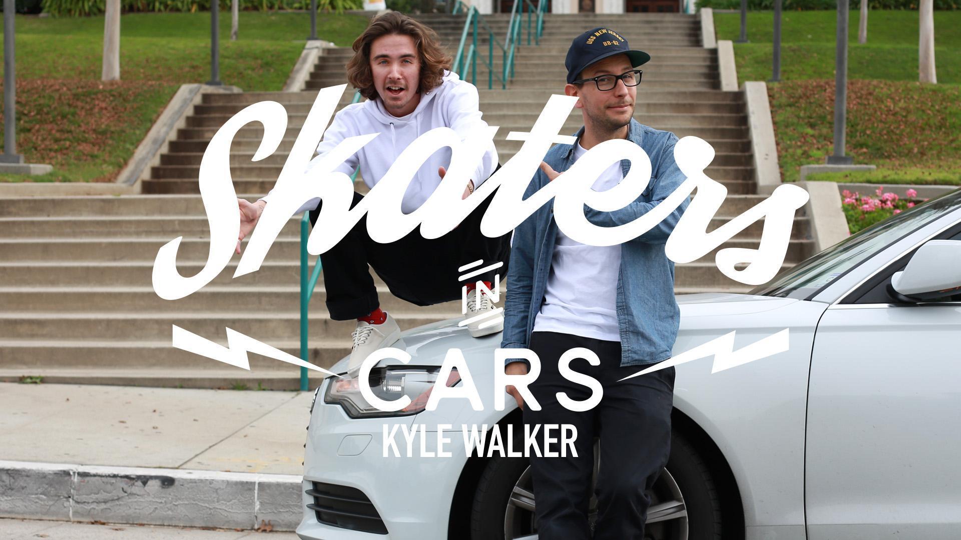 skaters in cars looking at spots kyle walker part 1