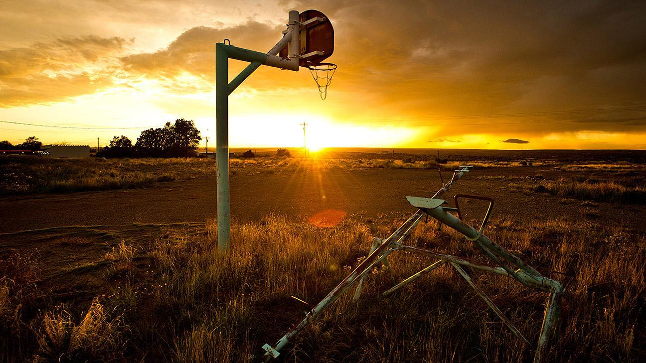 Without the countless hours spent in the backyard, on the playground, or  the streets, there would be no Larry Legend, MJ, or Magic. - Basketball Hoops Across America, From A Missouri Farmhouse To An