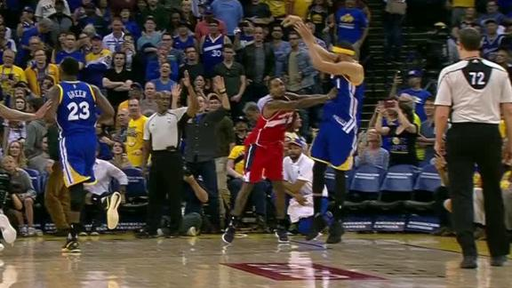 Wizards take exception to McGee's last minute 3