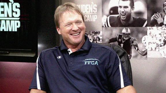 Gruden gives top QB prospects ultimate treatment