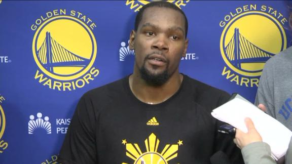 Durant knew return would be tough no matter what