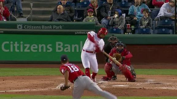 Phillies pummel Nats with 12-run first inning