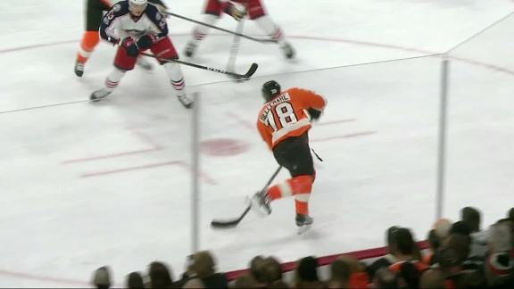 Flyers strike twice in first period en route to win
