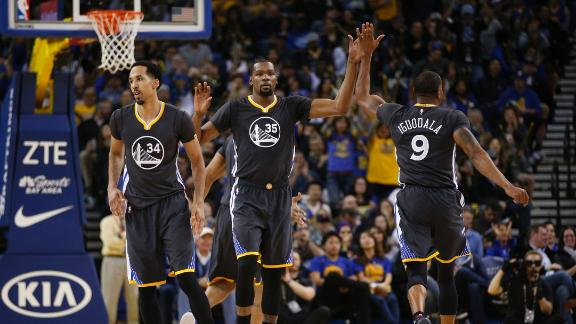 Durant's return brings buzz to Golden State