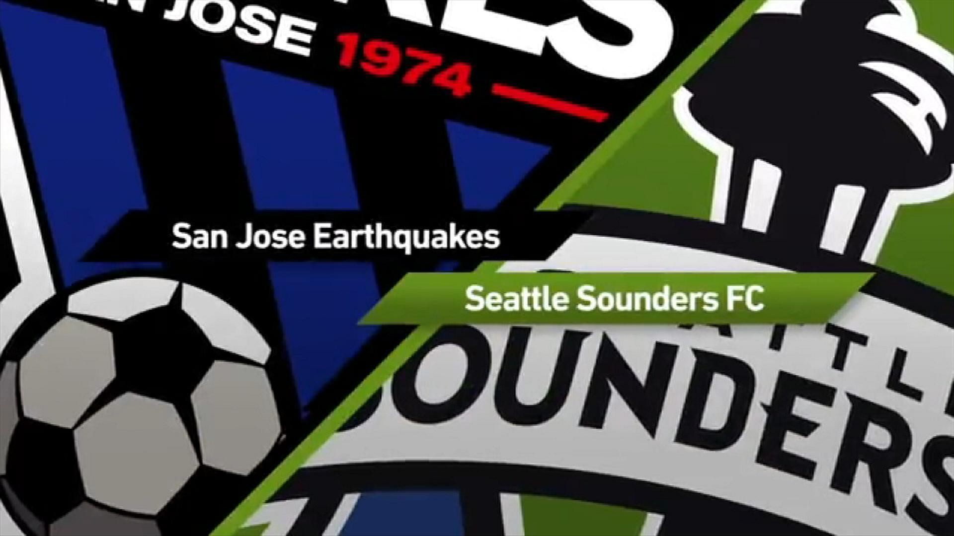 San Jose 1-1 Seattle: Late drama in Cali - Via MLS