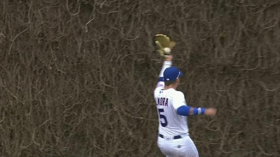 Almora robs Seager twice against the ivy