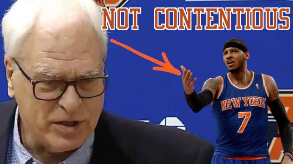 Phil Jackson: Time to move on from Melo