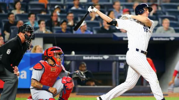 Yankees power past Cardinals to earn sweep