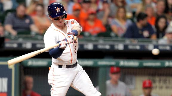 Astros hold Angels scoreless