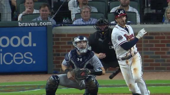 Braves walk off on Swanson's single