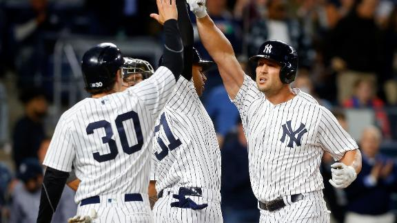 Yankees extend streak to eight straight