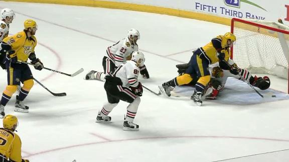 Fiala the OT hero for Predators