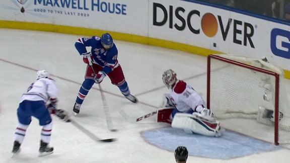 Nash's game winner helps Rangers tie up series