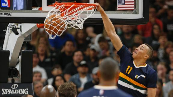 Exum 'stepping up' role for Jazz