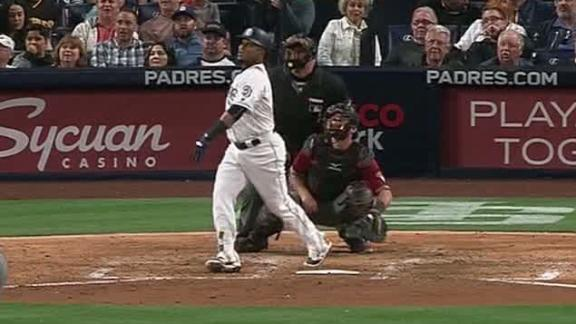 Aybar's solo shot all the offense Padres need